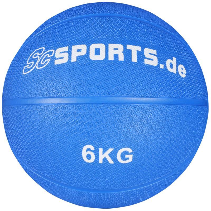 Medizinball blau 6 kg
