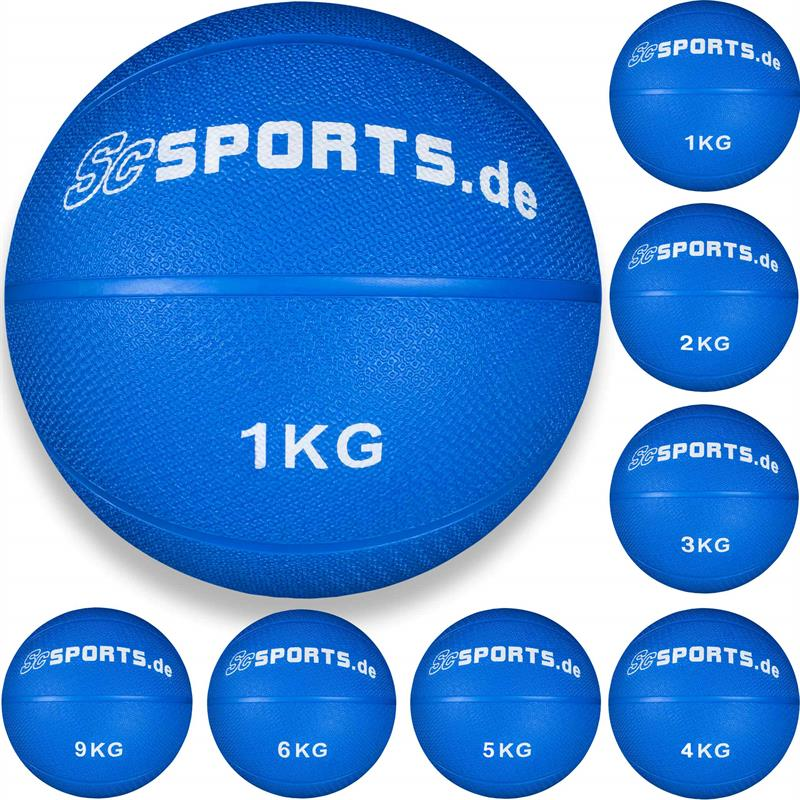 Medizinball blau