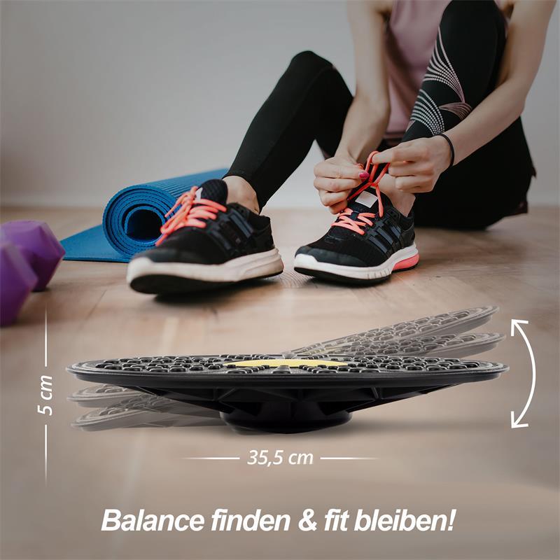 Gleichgewichtskreisel Ø 35,5 cm x Höhe 5 cm