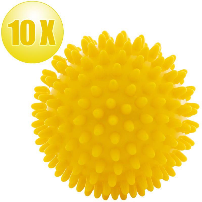 Massagebälle 10er Set gelb