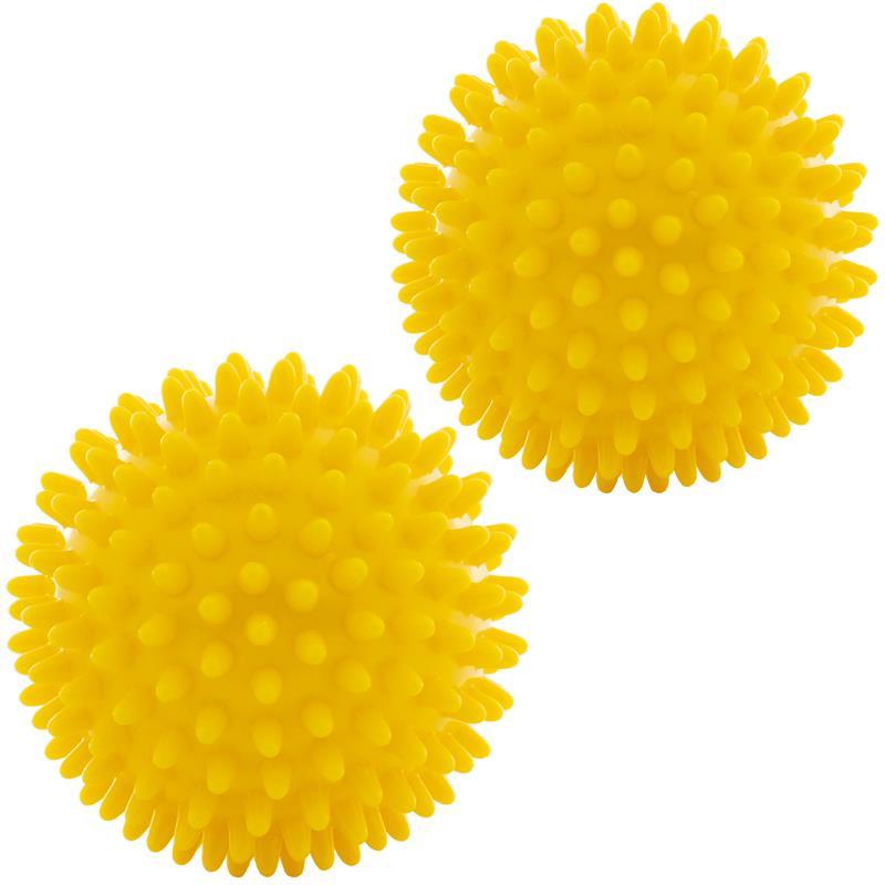 Massagebälle 2er Set gelb