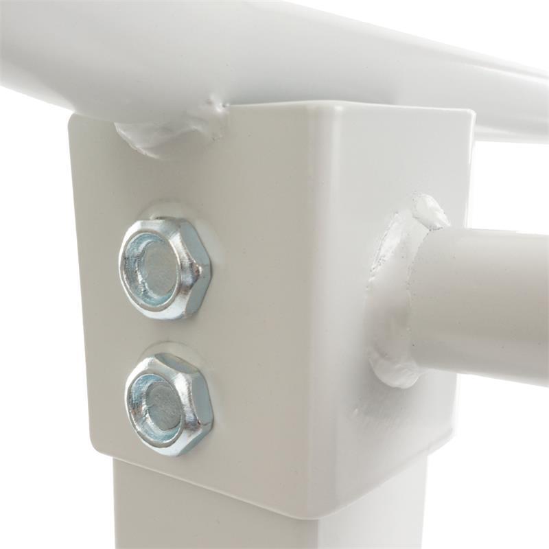 Optrekstang voor plafondmontage wit
