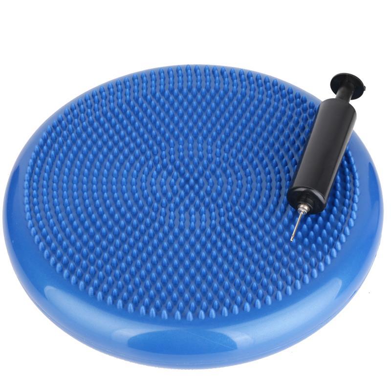 Pilates Luftpad mit Pumpe Ø 34 cm