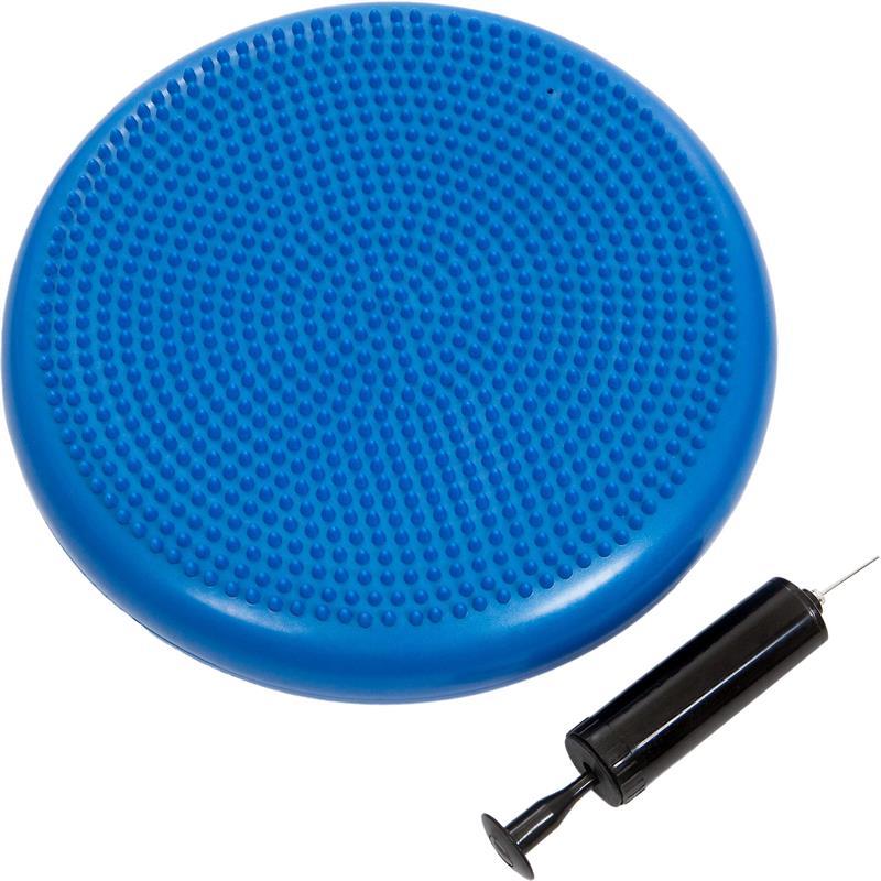 Pilates Luftpad mit Pumpe Ø 34 cm hellblau