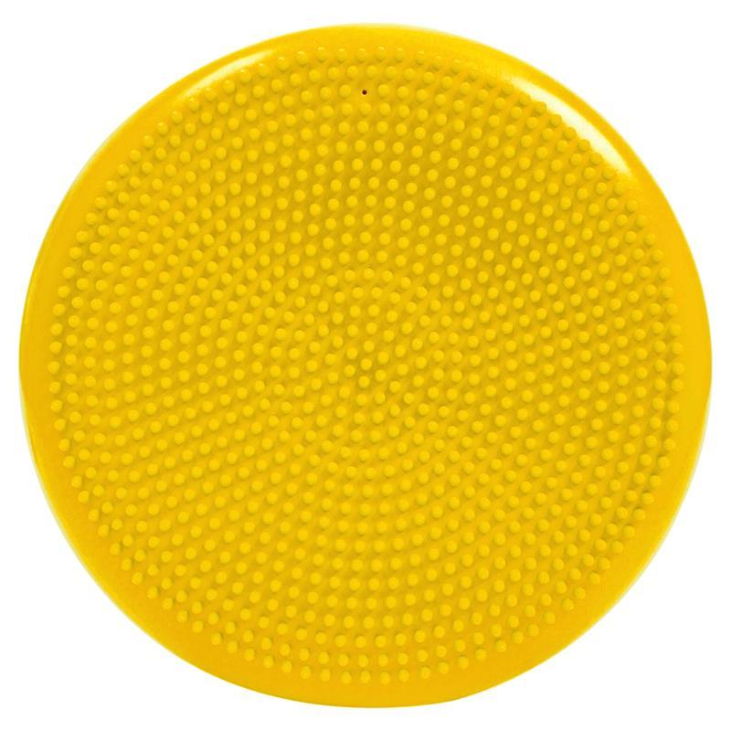 Pilates Luftpad mit Pumpe Ø 34 cm gelb