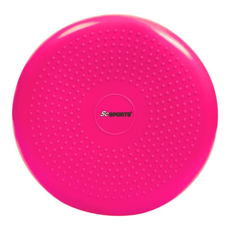Pilates Luftpad mit Pumpe Ø 34 cm pink