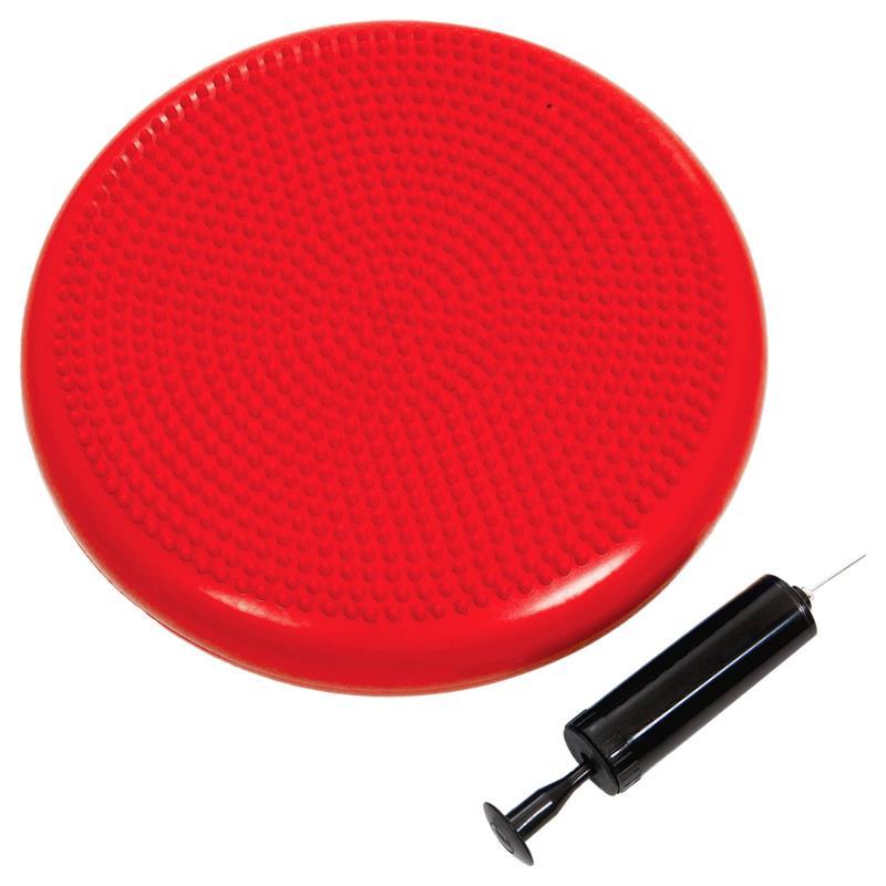 Pilates Luftpad mit Pumpe Ø 34 cm rot