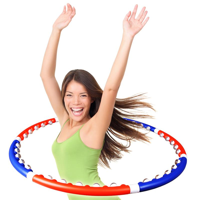 Hula Hoop Massagereifen blau/orange