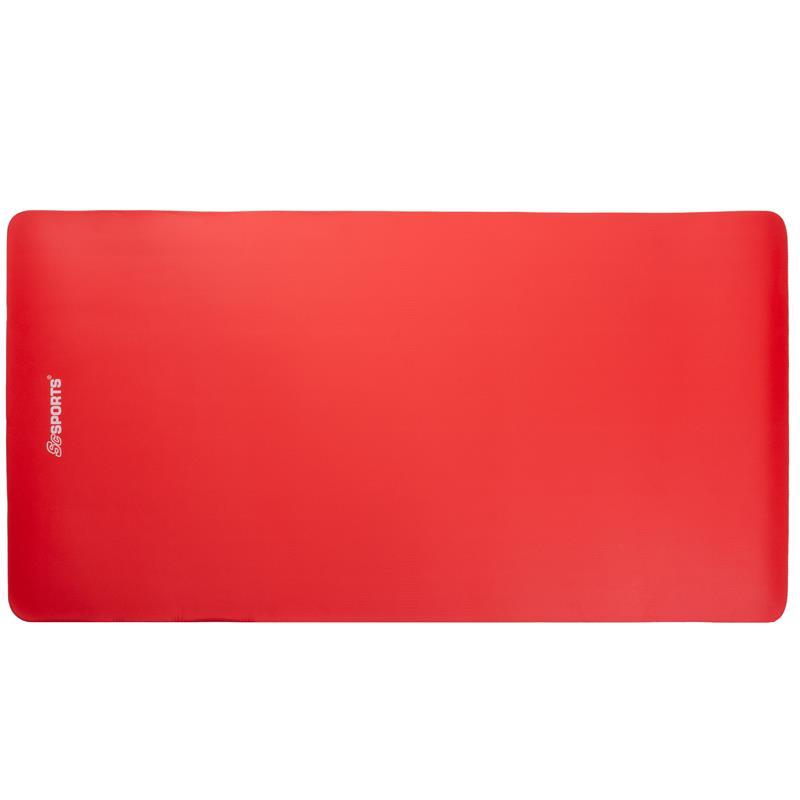 Gymnastikmatte Sportmatte 190 x 100 x 1,5 cm rot