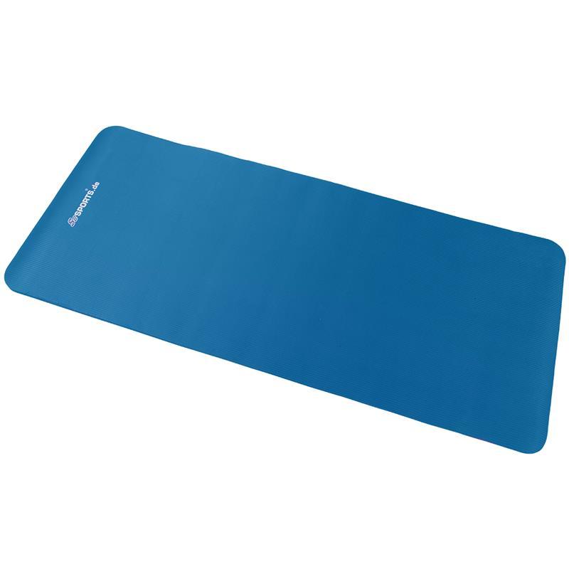 Gymnastikmatte Sportmatte 190 x 100 x 1,5 cm blau
