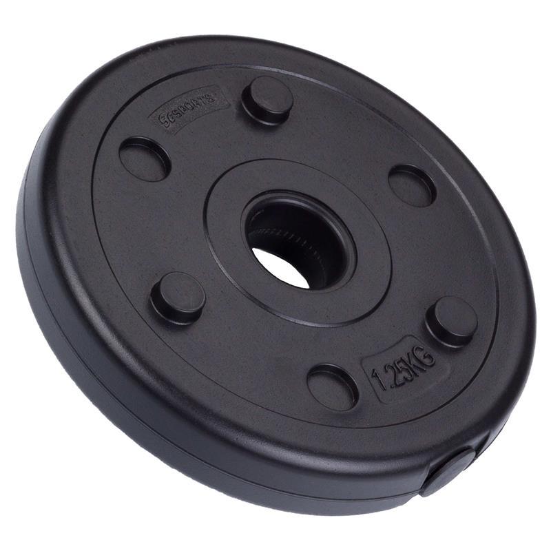 1,25 kg Hantelscheibe Kunststoff Ø 30 mm