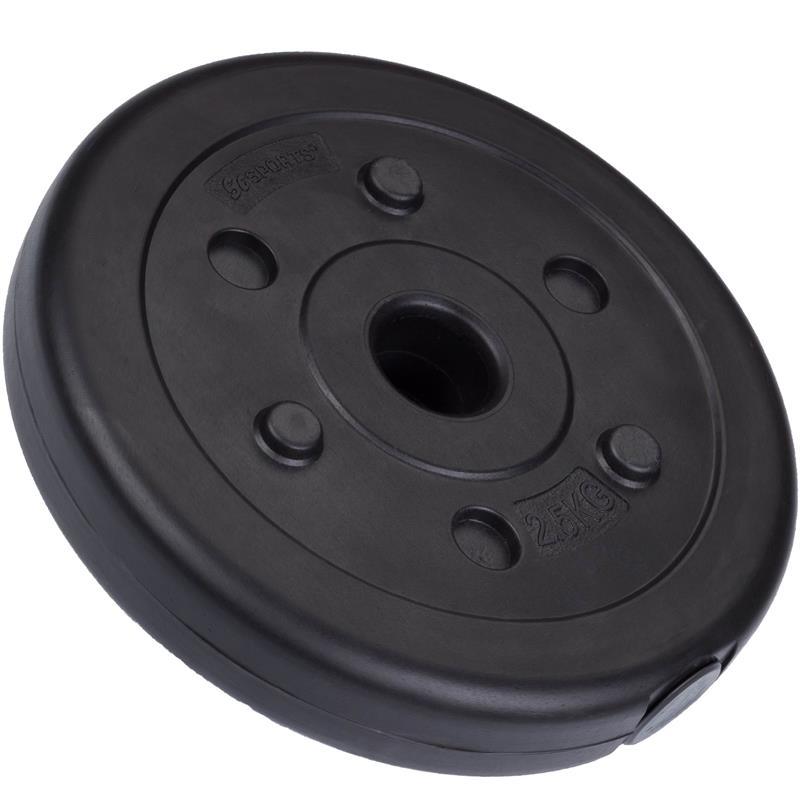 30 kg Kurzhantelset Kunststoff mit 30 mm Durchmesser