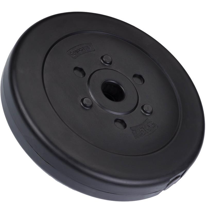 7,5 kg Hantelscheibe Kunststoff Ø 30 mm