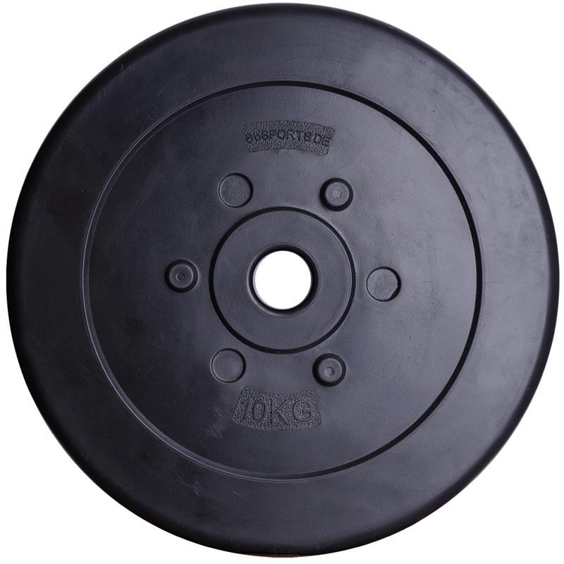 40 kg Hantelscheibenset Kunststoff 30 mm