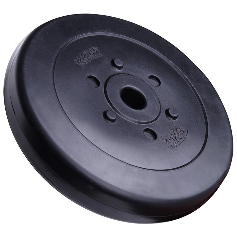 10 kg Hantelscheibe Kunststoff 30 mm