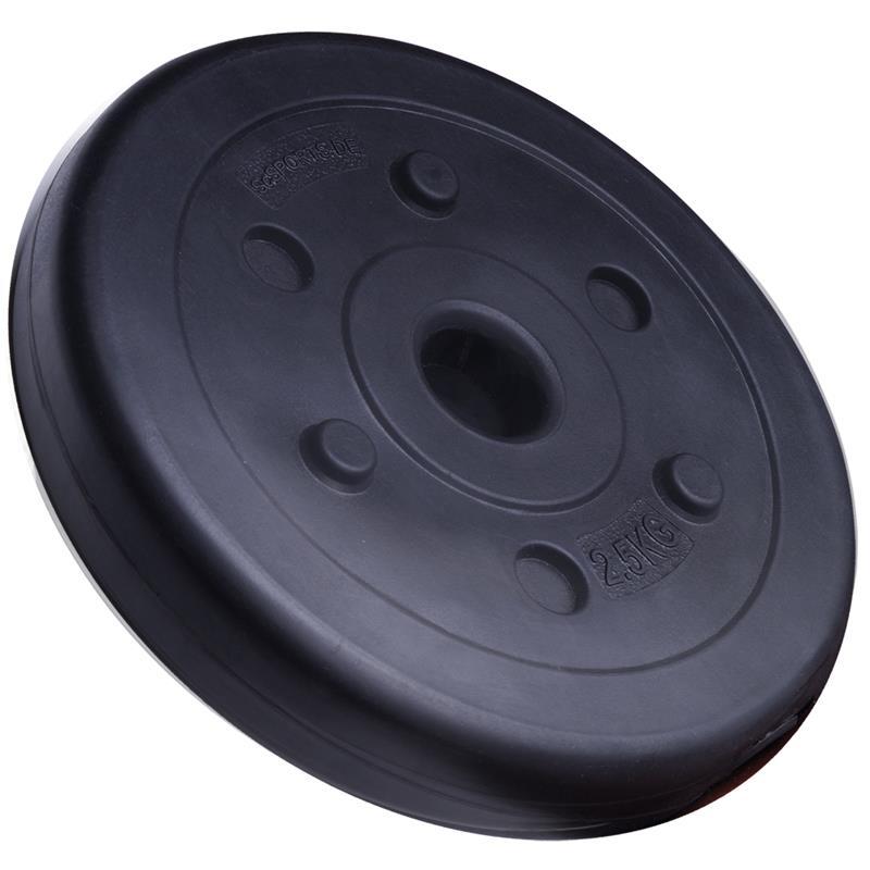20 kg Hantelscheibenset Kunststoff 30 mm 8x2,5 kg