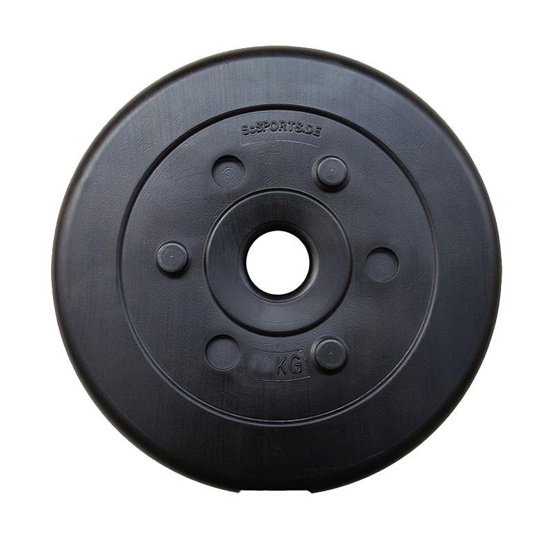 30 kg Curlhantelset Kunststoff 2x1,25 4x5 kg mit Gewinde