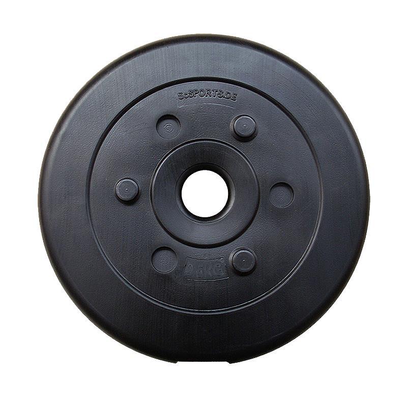 15 kg Hantelscheibenset Kunststoff 30 mm 6x2,5 kg