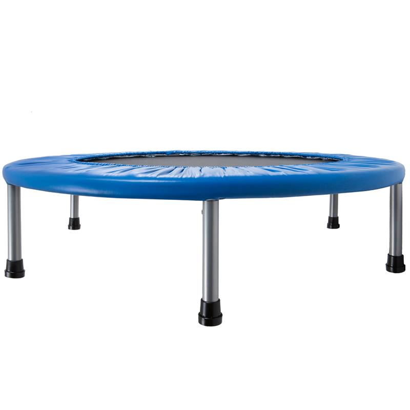 Trampolin Fitness-Trampolin Minitrampolin Ø 91 cm blau