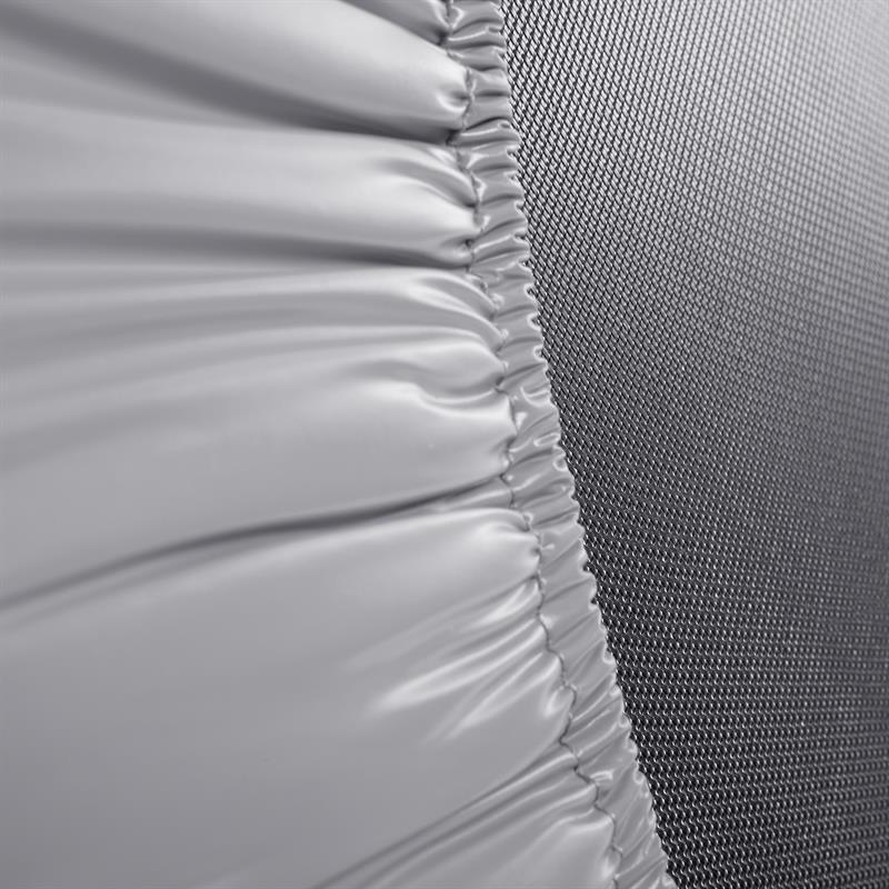 Trampolin Fitness-Trampolin Minitrampolin silber in Ø 91 cm oder Ø 101 cm