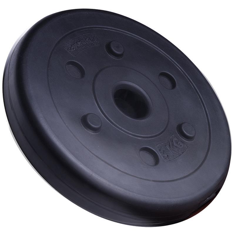 18,5 kg Langhantelset Kunststoff 2x1,25 2x3 2x5 kg