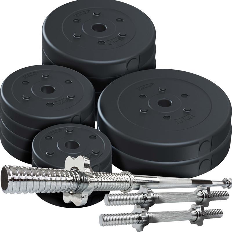 70 kg Kombiset Kunststoff 30 mm 2x10 4x5 4x2,5 4x1,25 kg