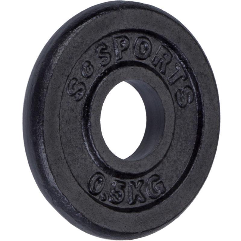 0,5 kg Hantelscheibe Gusseisen 30 mm