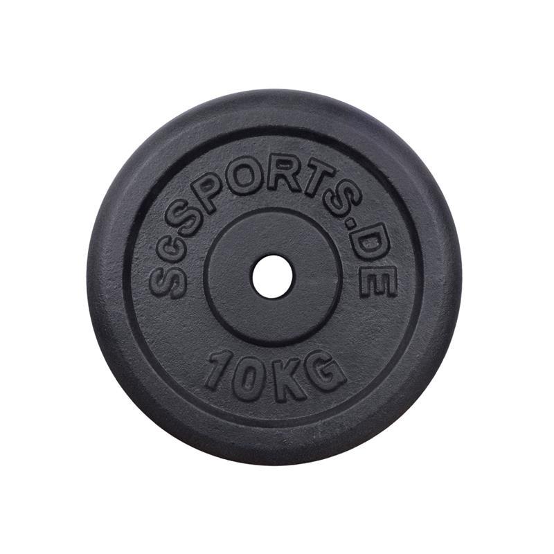 60 kg Hantelscheibenset Gusseisen 30 mm 8x5 2x10 kg