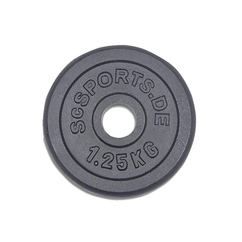 17,5 kg Hantelscheibenset Gusseisen 30 mm