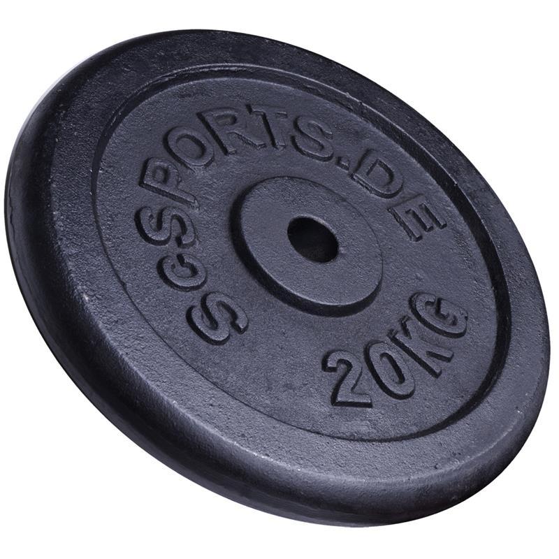20 kg Hantelscheibe Gusseisen 30 mm