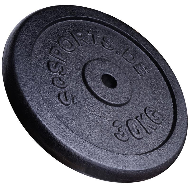 120 kg  Hantelscheibenset Gusseisen 30 mm