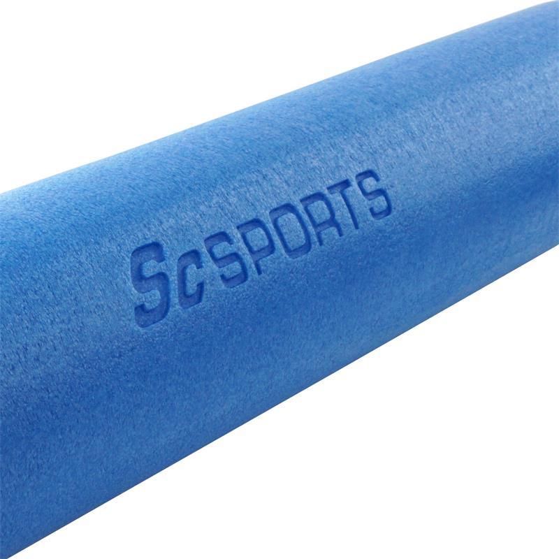 Pilatesrolle blau 90 x 15 cm
