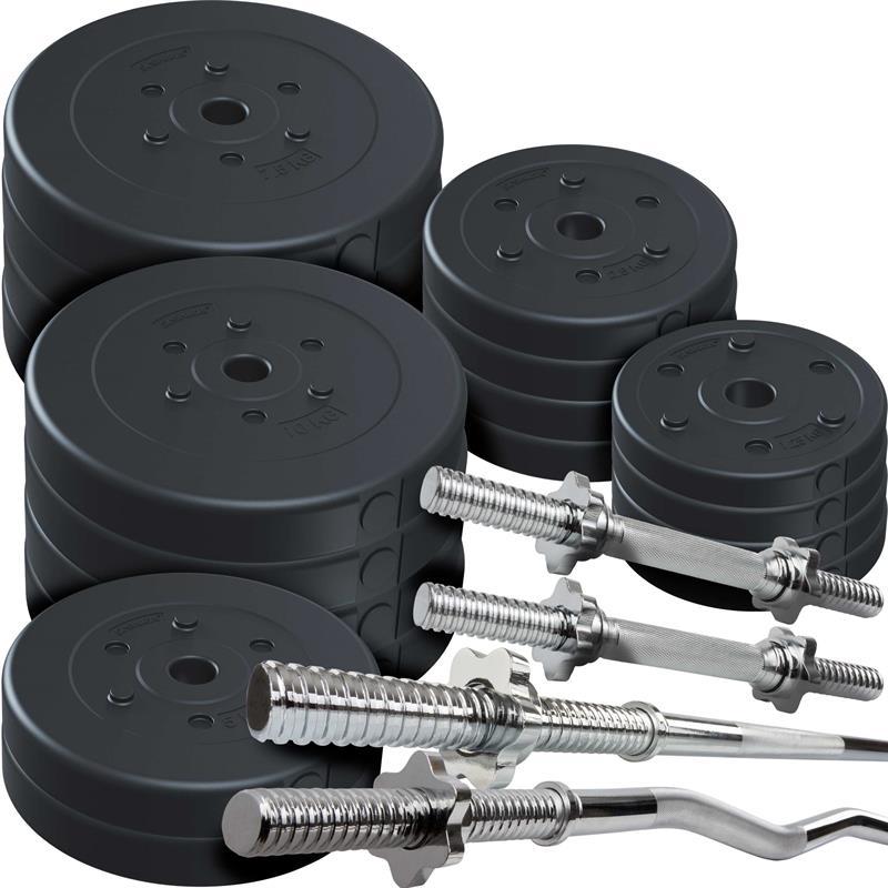 120 kg Profi Komplett Set