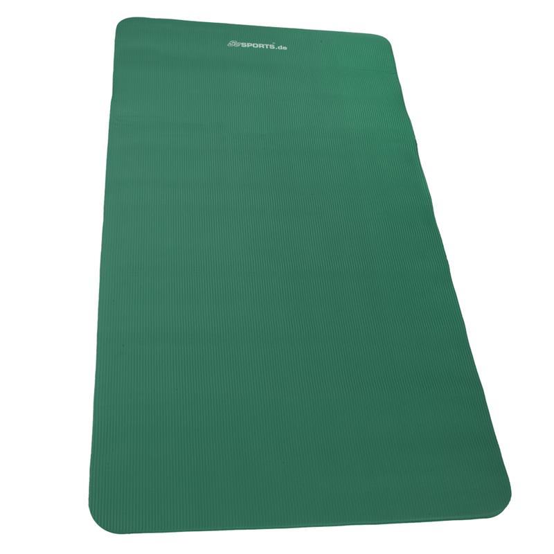 Gymnastikmatte Sportmatte 190 x 100 x 1,5 cm grün