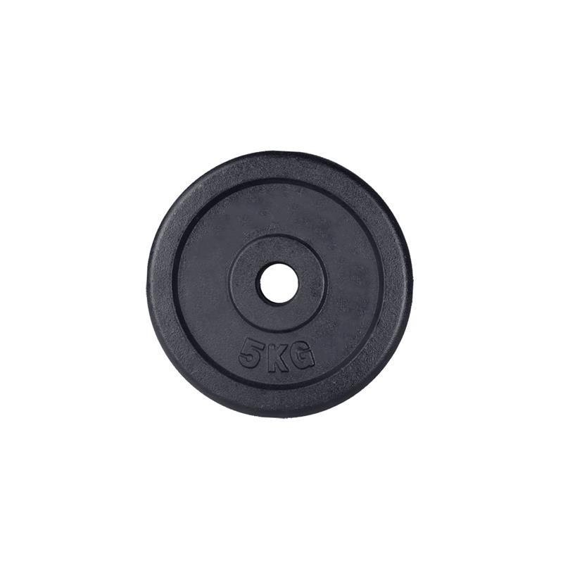 5 kg Hantelscheibe Gusseisen 30 mm ohne Logo