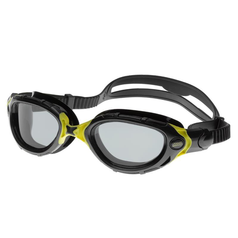 ZOGGS Schwimmbrille Predator-Flex schwarz/smoke