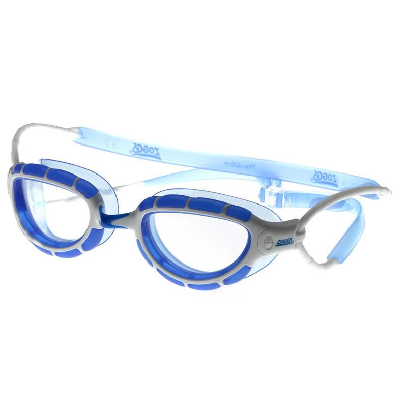 ZOGGS Schwimmbrille Predator blau/weiß/transparent