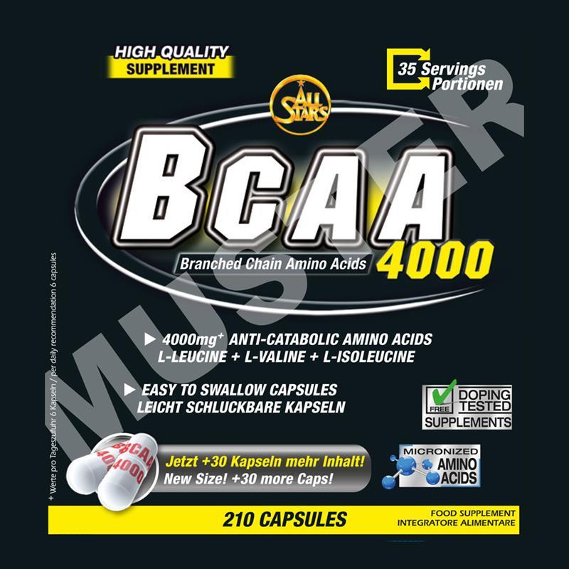 All Stars BCAA 4000