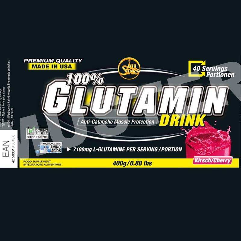 All Stars Glutamin Drink 400g