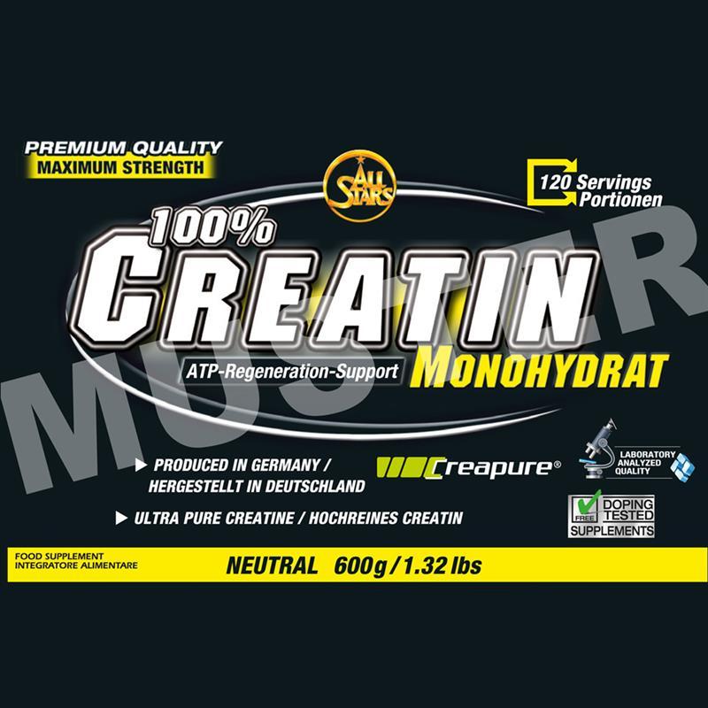 All Stars Creatin Monohydrat 600g