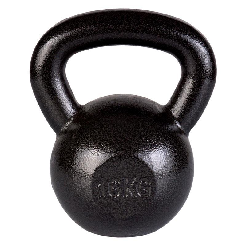 16 kg Kettlebell Hammerschlag-Optik