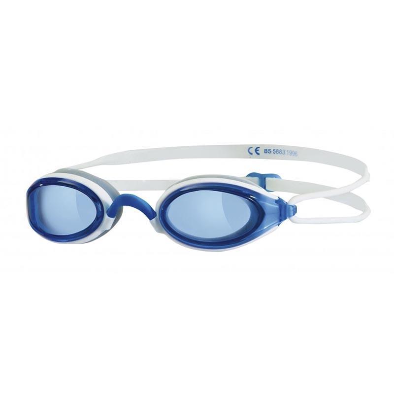 ZOGGS Schwimmbrille Fusion Air weiß/blau