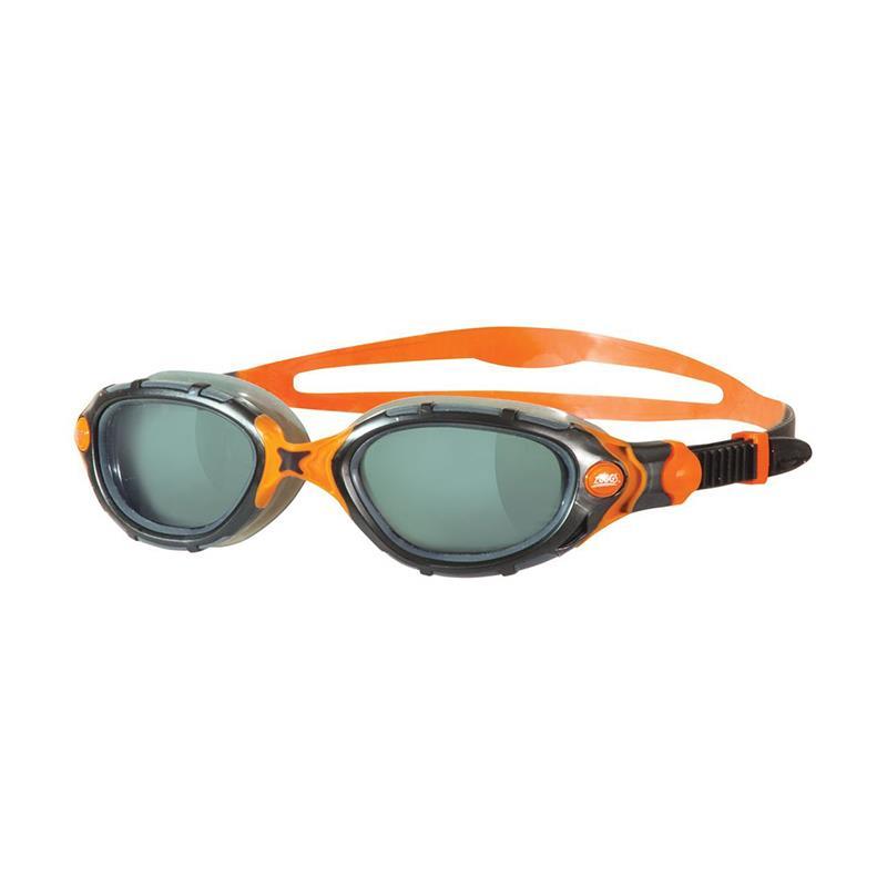 ZOGGS Schwimmbrille Predator Flex schwarz/orange