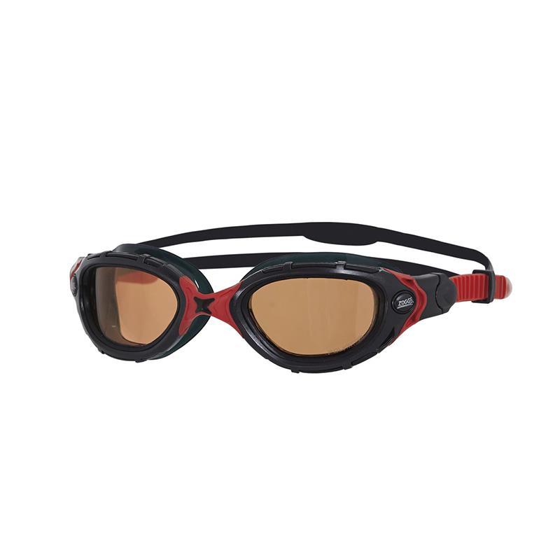 ZOGGS Predator Flex Polarized Ultra schwarz/rot