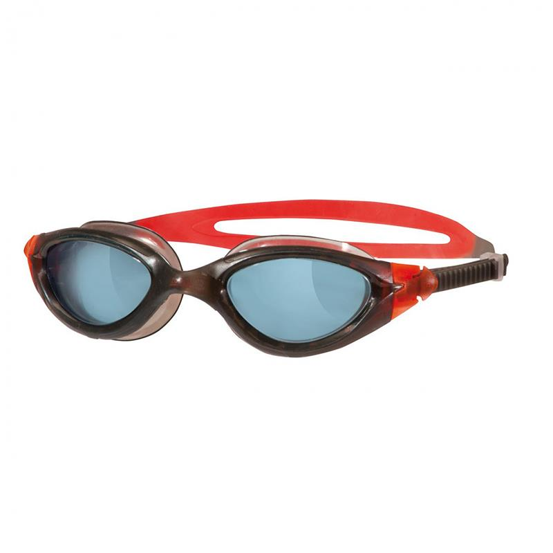 ZOGGS Schwimmbrille Panorama Schwarz/Rot