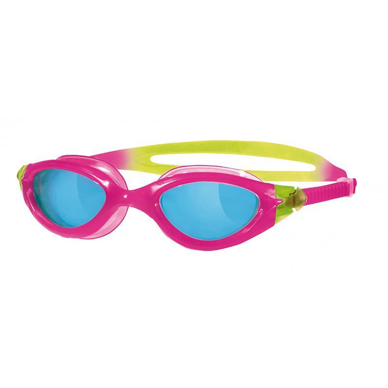ZOGGS Schwimmbrille Panorama Junior Kinder pink/gelb