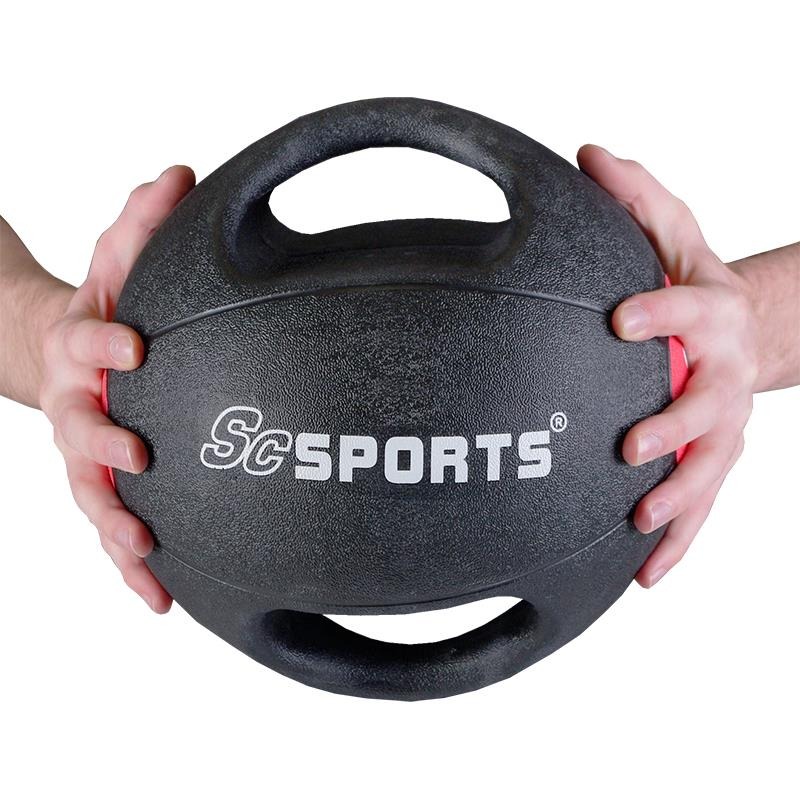 Medizinball mit Griffen 3 kg