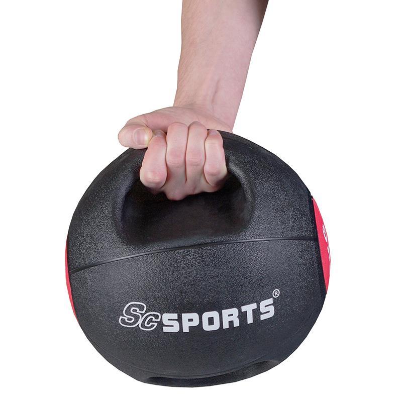 Medizinball mit Griffen 6 kg