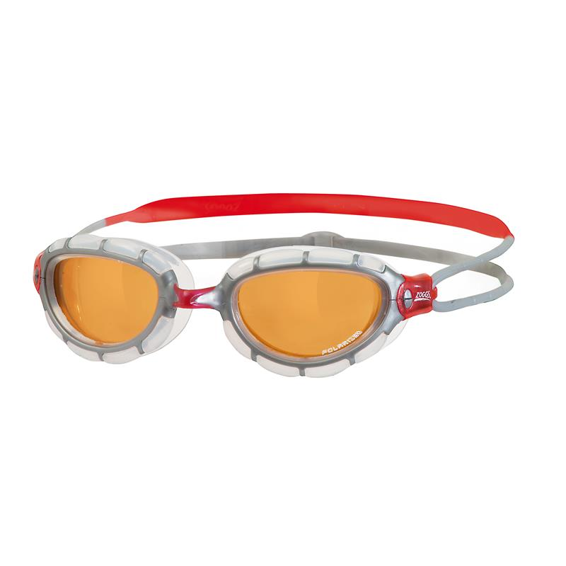 ZOGGS Schwimmbrille Predator Polarized Ultra grau/orange