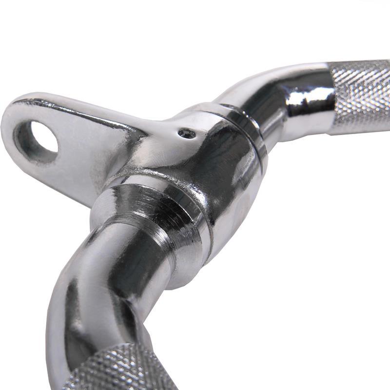 Trizepssgriff V-Griff Doppelpilzgriff mit Drehgelenk für Kabelzug